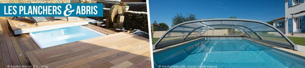 Planchers et abris de piscine Aquilus