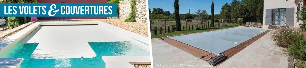 Volets et couvertures de piscine Aquilus