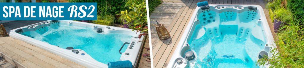 Et pourquoi pas un spa de nage aquilus ? sport et détente à domicile