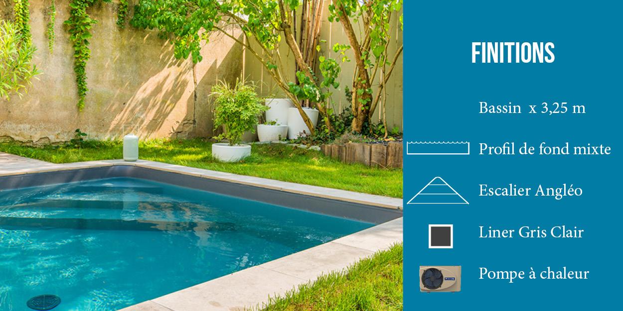 options piscine aquilus - pompe à chaleur