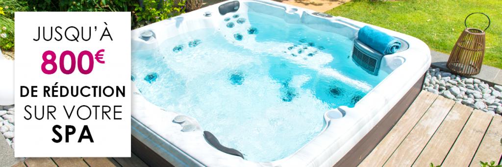 du 2 septembre au 31 octobre 2019, aquilus vous offre jusqu'à 800€ de réduction pour l'achat d'un spa