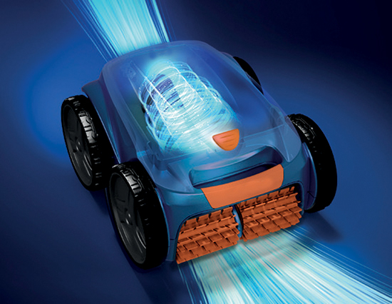 Nouveau robot nettoyeur piscine Aquilus Valence